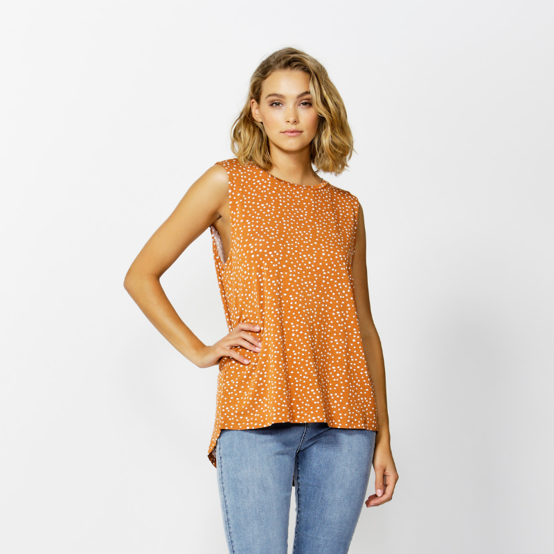 Betty Basics | Capri Tank - Clay Spot | Shut the Front Door