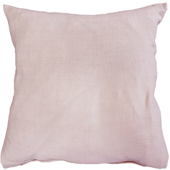 Mulberi | Indira Linen Cushion PINK | Shut the Front Door
