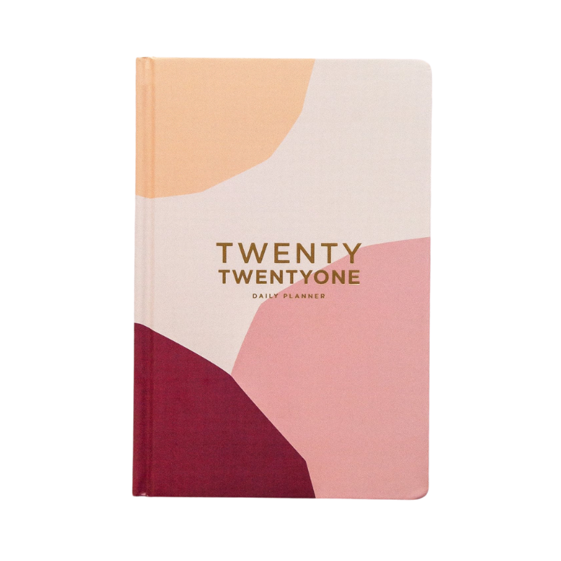 Frank | 2021 Daily Planner - Peach | Shut the Front Door
