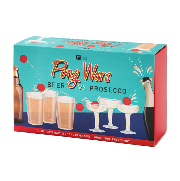 Talking Tables | Pong Wars Beer v Prosecco | Shut the Front Door