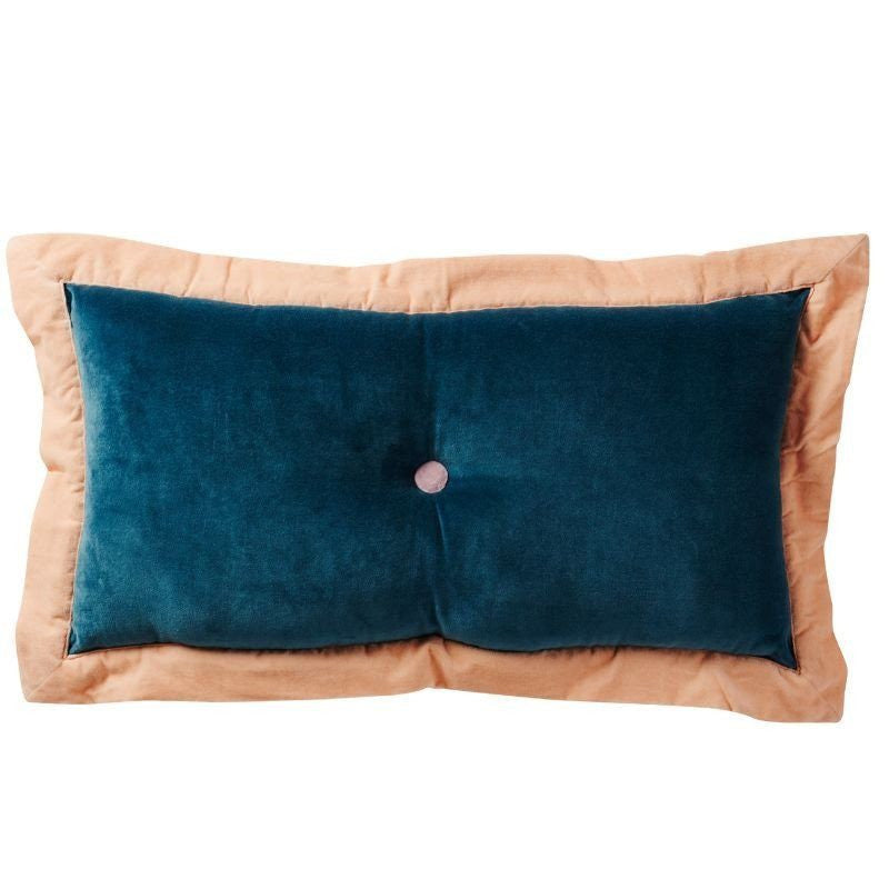 SAGE & CLARE | Nina Velvet Cushion TURQUOISE | Shut the Front Door