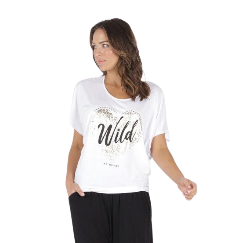 Betty Basics | Maui Tee - Wild | Shut the Front Door
