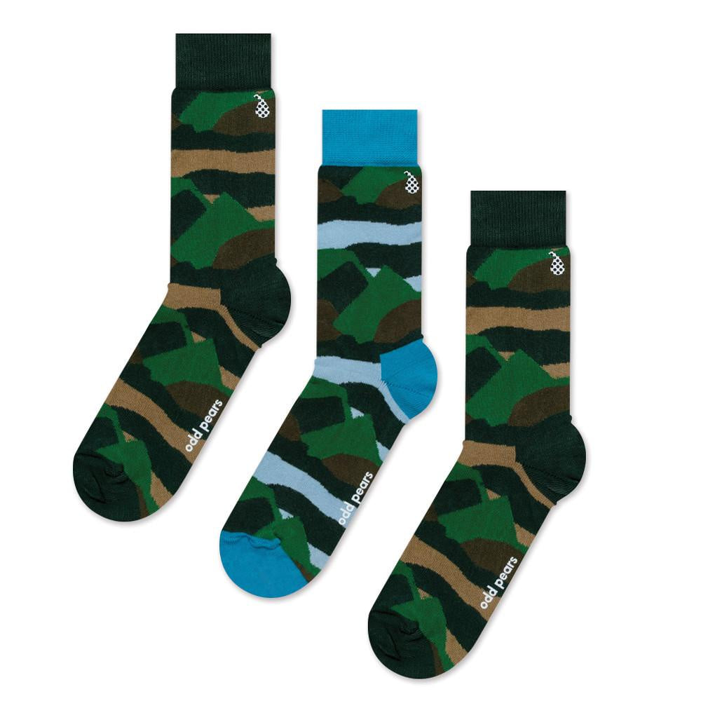 Odd Pears | Odd Pears Socks - Camo 41-46 | Shut the Front Door