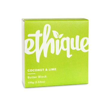 Ethique | Coconut & Lime Butter Block | Shut the Front Door
