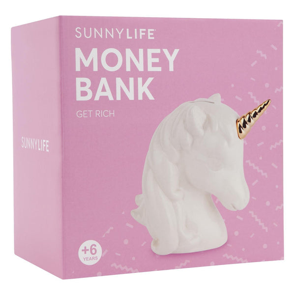 Sunnylife | Unicorn Money Bank | Shut the Front Door