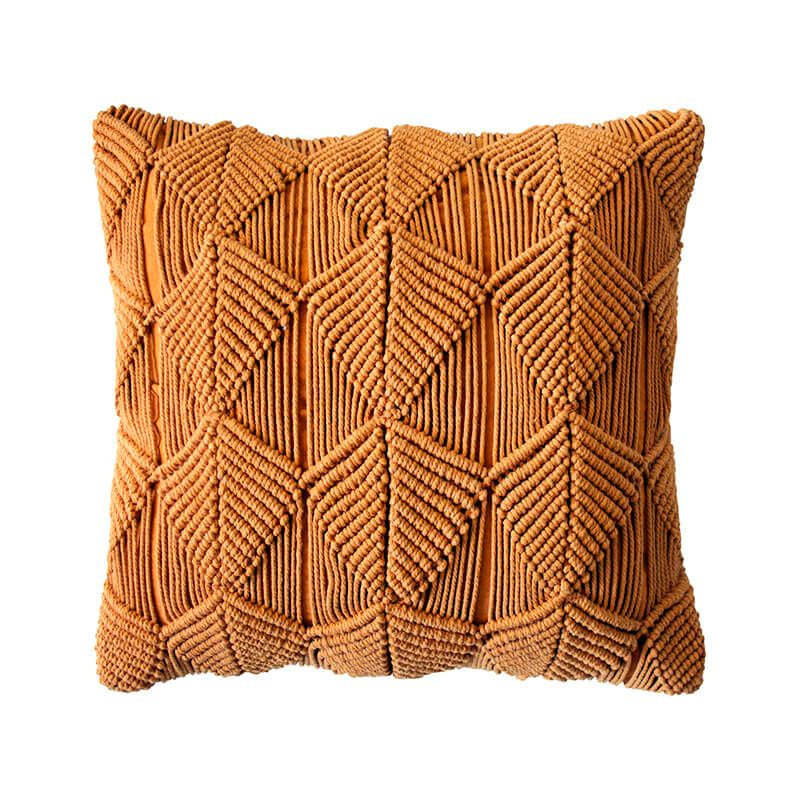 Bambury | Vega Cushion - Turmeric | Shut the Front Door