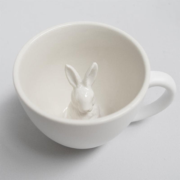 White Moose | Bunny Mug | Shut the Front Door