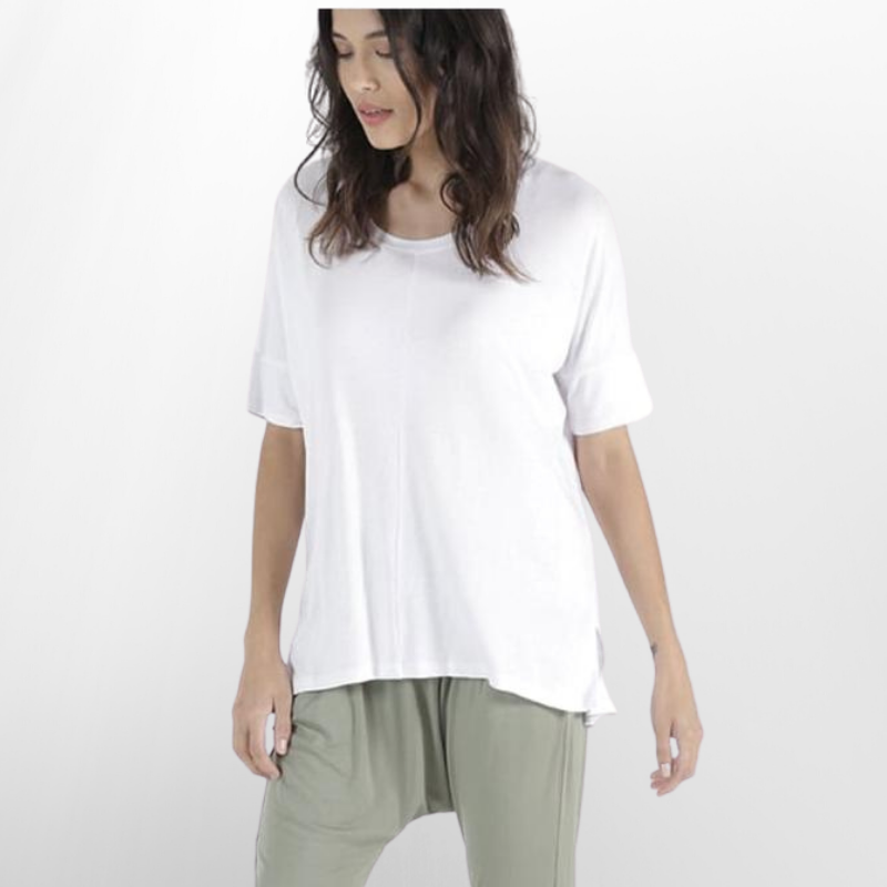 Betty Basics | Cambridge Tee - White | Shut the Front Door