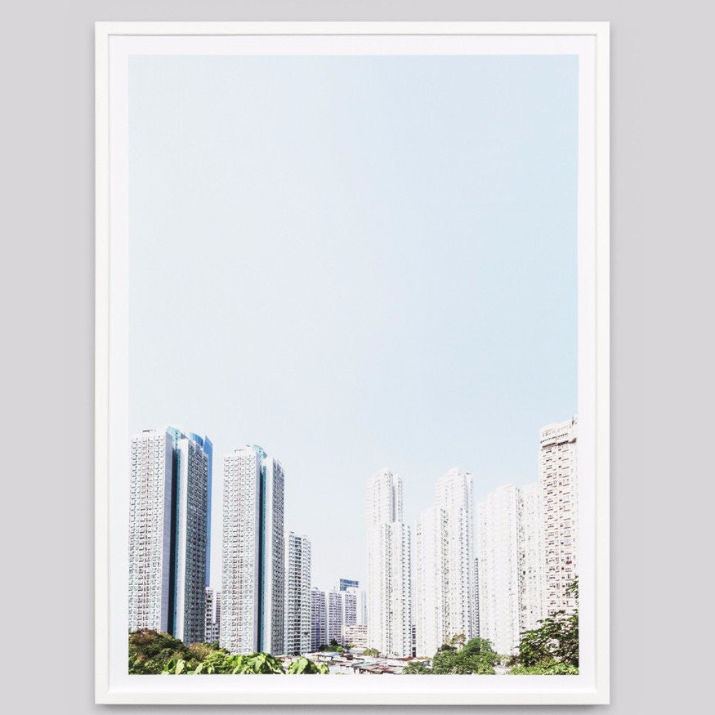 Middle of Nowhere | Framed Print High Rise Sky | Shut the Front Door