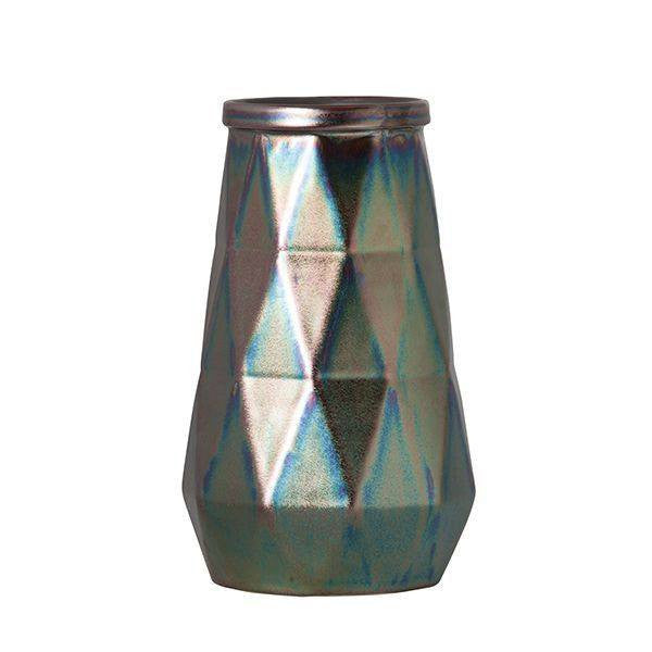 General Eclectic | Lunar Faceted Vase | Shut the Front Door