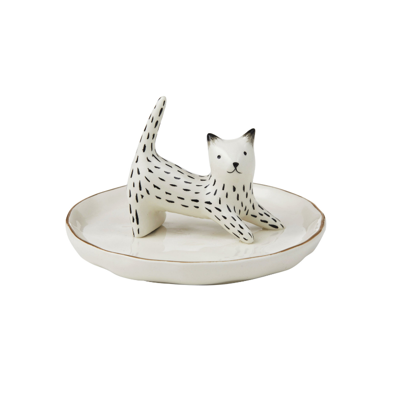 Emporium | Lily Cat Ring Holder | Shut the Front Door