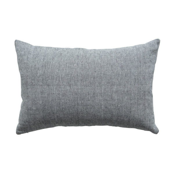 Milk & Sugar | Cushion Woven GREY | Shut the Front Door