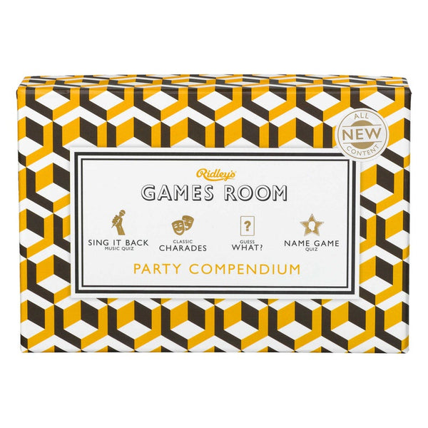 Ridleys | Games Room Quiz - Party Compendium | Shut the Front Door