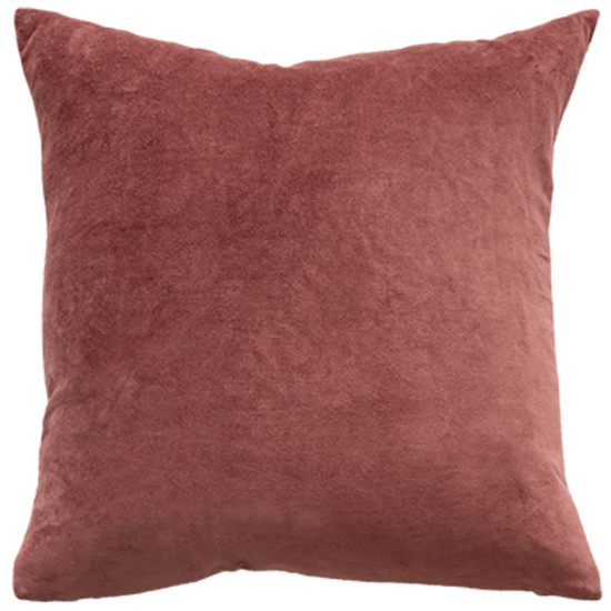 Mulberi | Majestic Velvet Cushion MARSALA 50cm x 50cm | Shut the Front Door