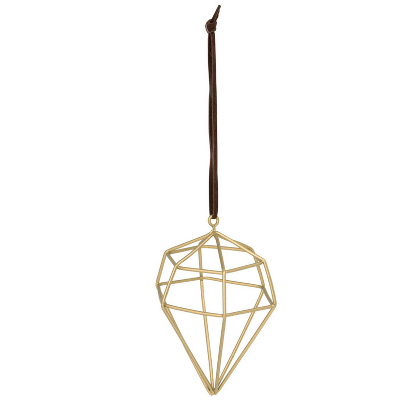General Eclectic | Diamond Wire Wide Gold Decoration | Shut the Front Door