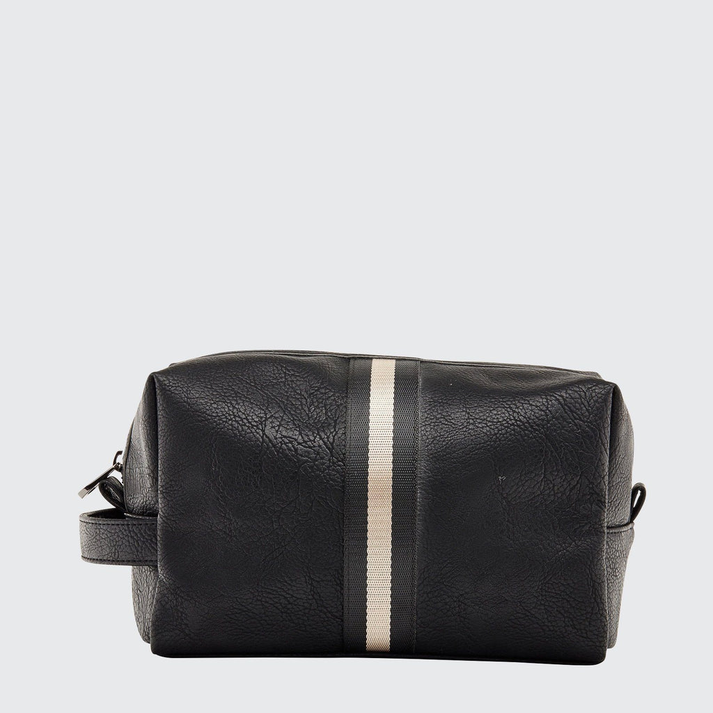 Louenhide | Archie Black Mens Toiletry Bag | Shut the Front Door