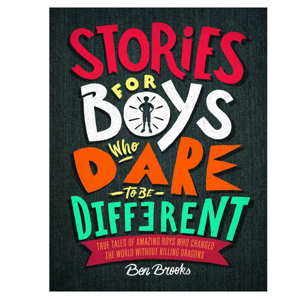 Thames Hudson | Stories for Boys Dare be Different | Shut the Front Door