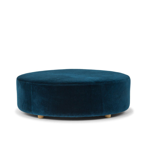 Me & My Trend | Ottoman Velvet Large Blue *PREORDER* | Shut the Front Door
