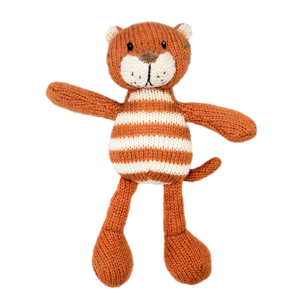 Lily and George | Niko Stripey Tiger Rattle | Shut the Front Door
