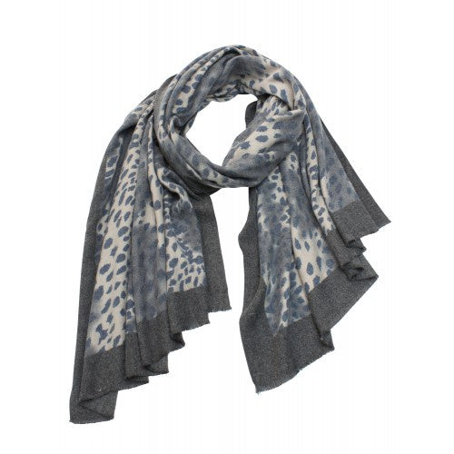 Tiger Tree | Charcoal Cheetah Scarf | Shut the Front Door
