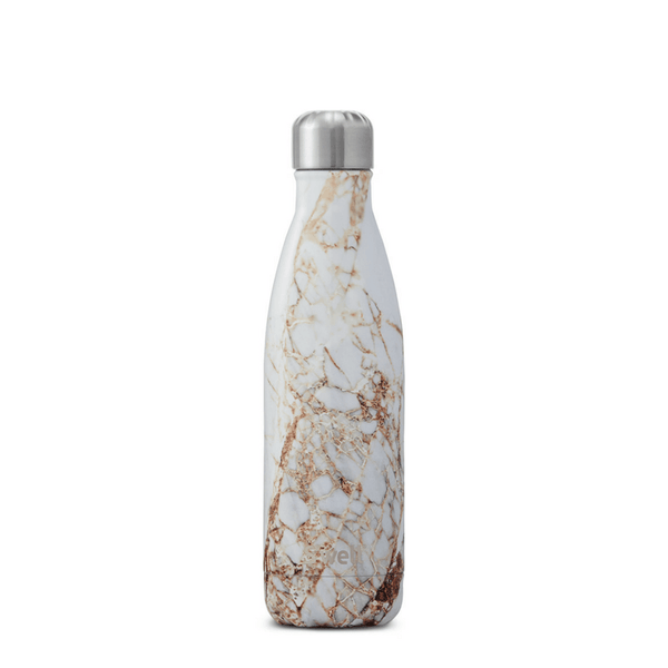 S'Well | S'Well Bottle 750ml Elements Collection Calacatta Gold *PRE ORDER* | Shut the Front Door