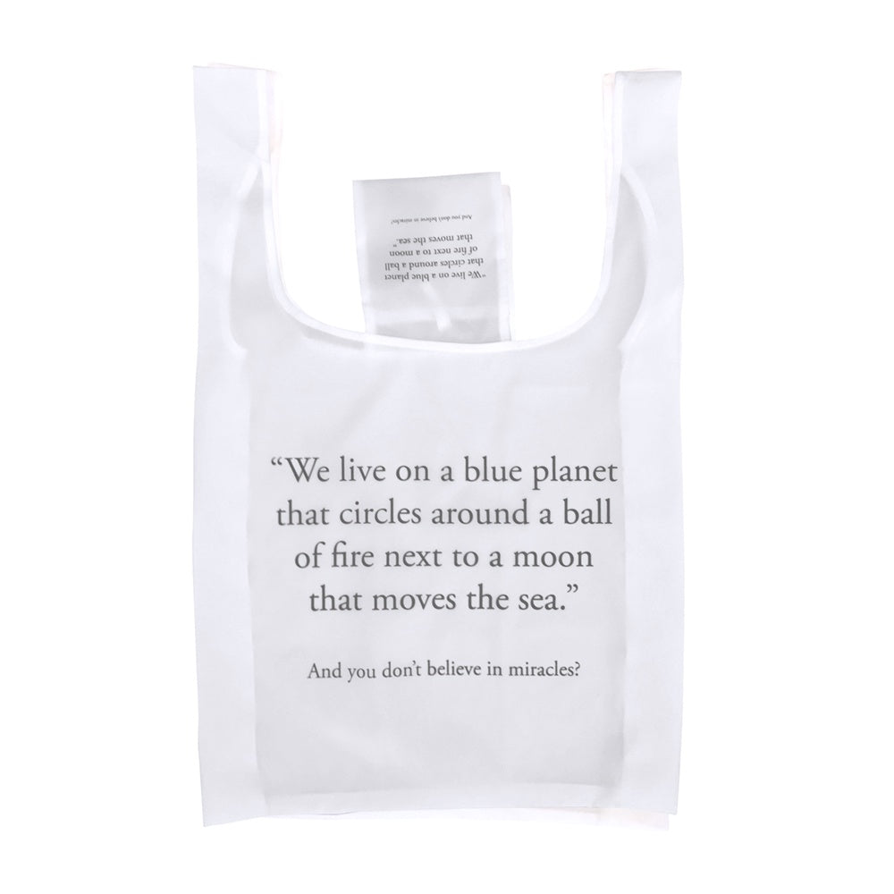 Save Planet A | Reusable Shopping Bag - Miracles | Shut the Front Door