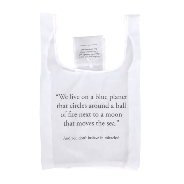 Save Planet A | Reusable Shopping Bag - Believe in Miracles? | Shut the Front Door