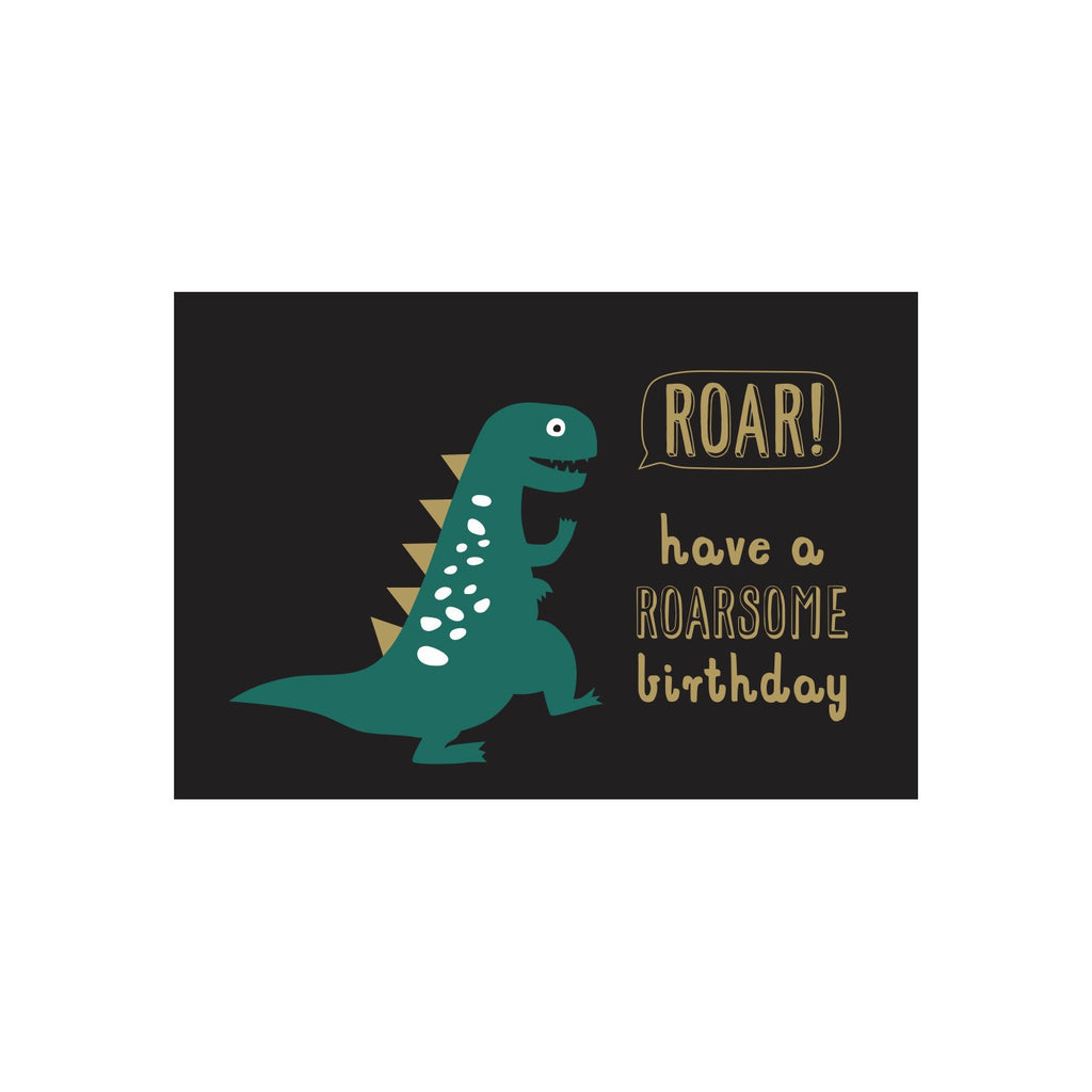 Shut The Front Door | Roarsome Birthday Card | Shut the Front Door