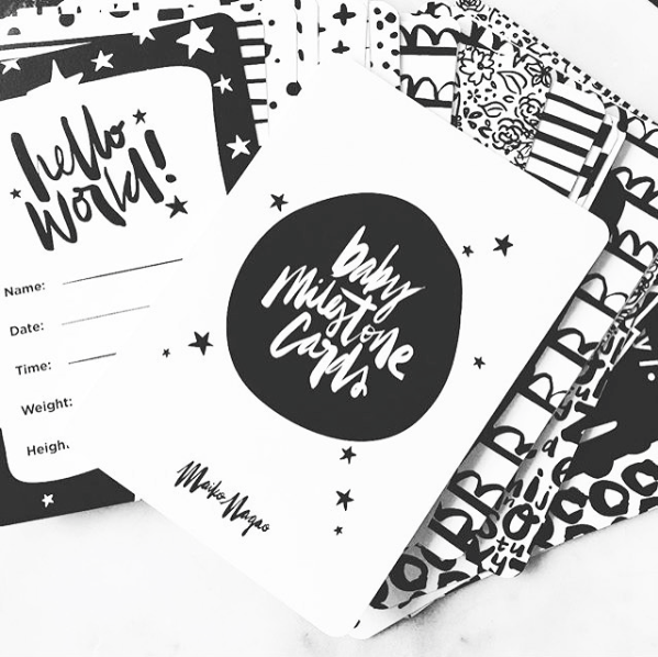MAIKO NAGAO | Milestone Cards Black&White | Shut the Front Door