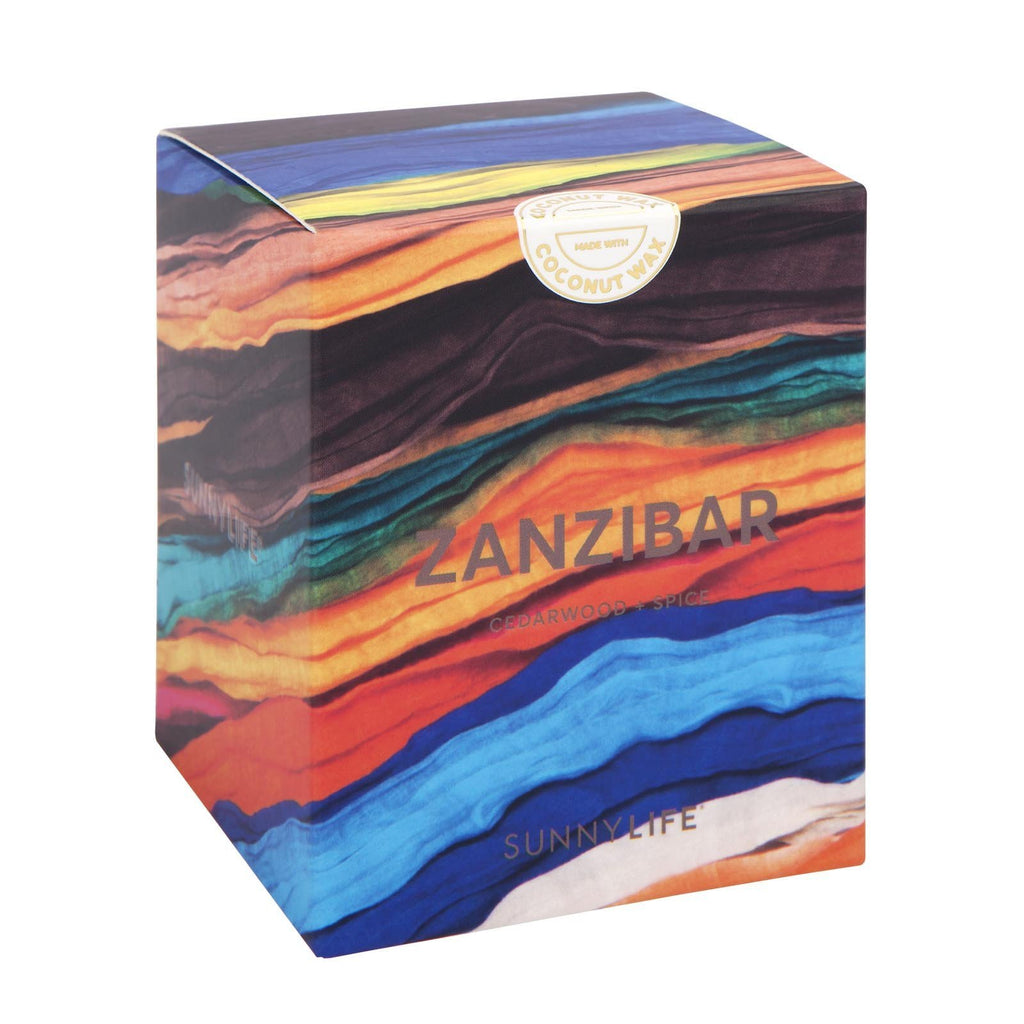 Sunnylife | Coconut Wax Scented Candle - Large - Zanzibar | Shut the Front Door