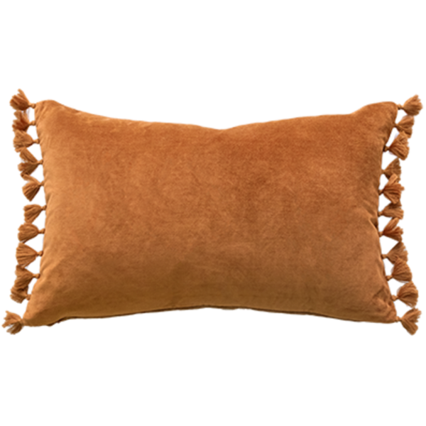 Mulberi | Este Velvet Cushion NUTMEG 35x53cm | Shut the Front Door
