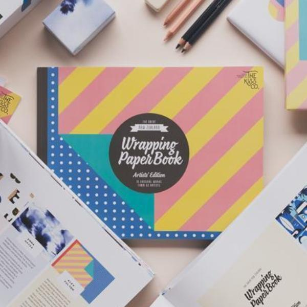 The Kiss Co | The Great NZ Wrapping Paper Book - Artists Edition | Shut the Front Door