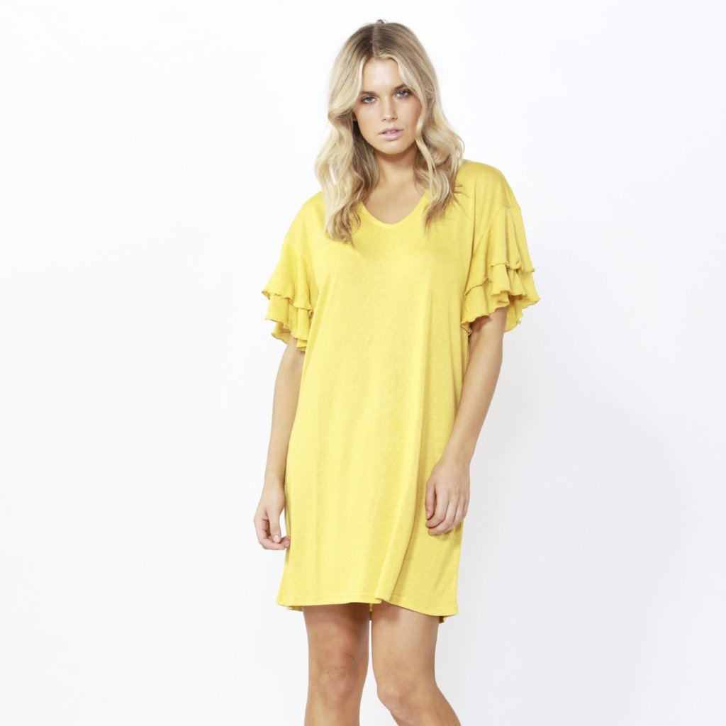 Betty Basics | Sydney Dress - Daffodil | Shut the Front Door