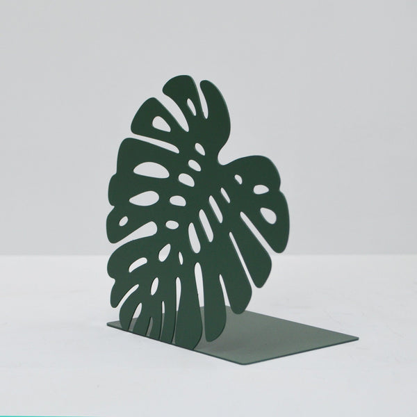 White Moose | Bookend Set Monstera Green | Shut the Front Door