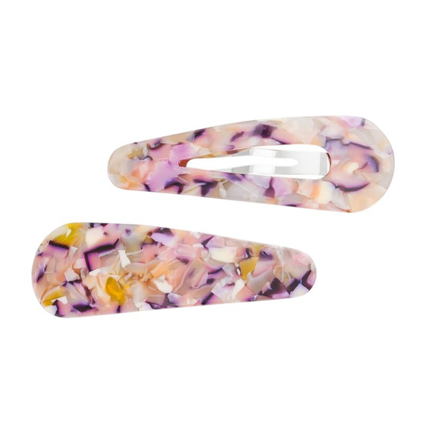 Tiger Tree | Mosaic Flexi Clip Set - Rose | Shut the Front Door