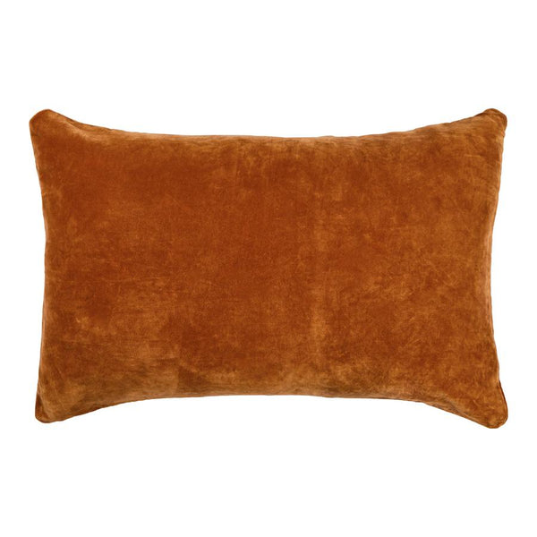 SAGE & CLARE | Bedari Velvet Pillowcase - Ochre | Shut the Front Door
