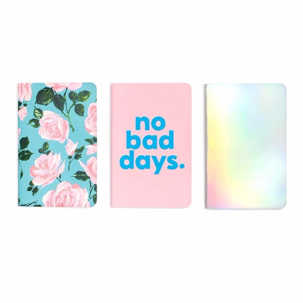ban.do | Notebook Set - Set of 3 | Shut the Front Door