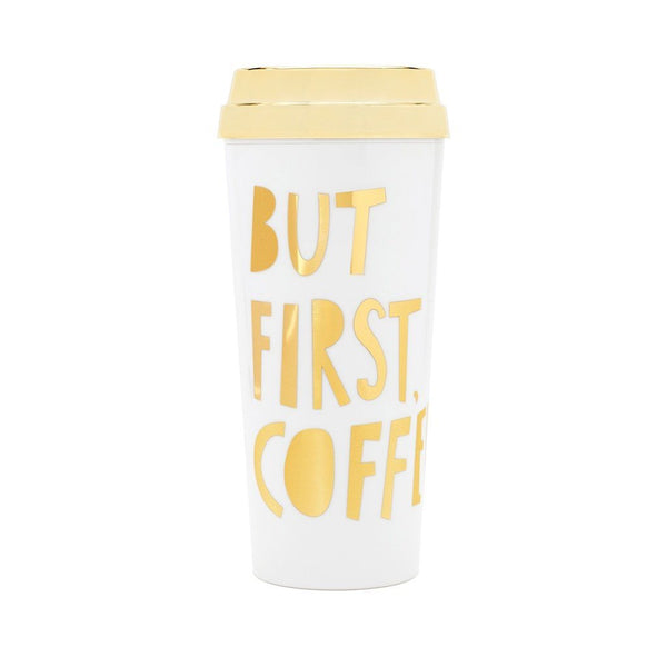 ban.do | But First Coffee Thermal Mug *PREORDER* | Shut the Front Door