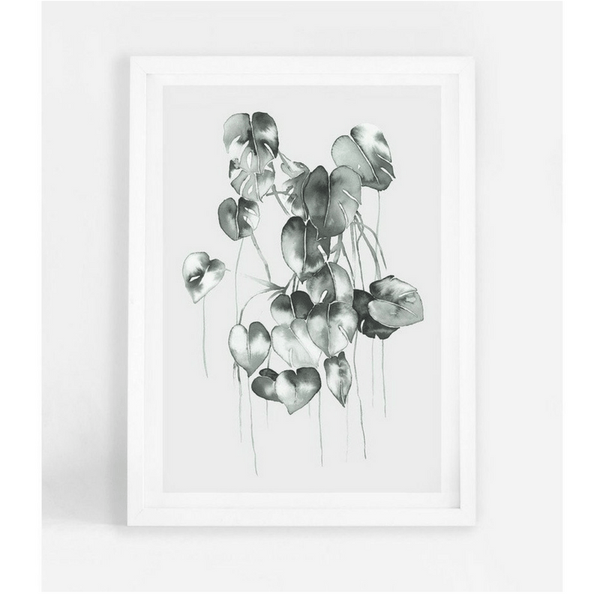 Leden | Leden Philodendron Bunch A3 Print | Shut the Front Door