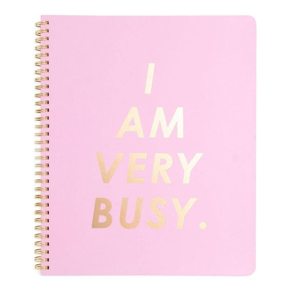 ban.do | I Am Very Busy Large Notebook *PREORDER* | Shut the Front Door