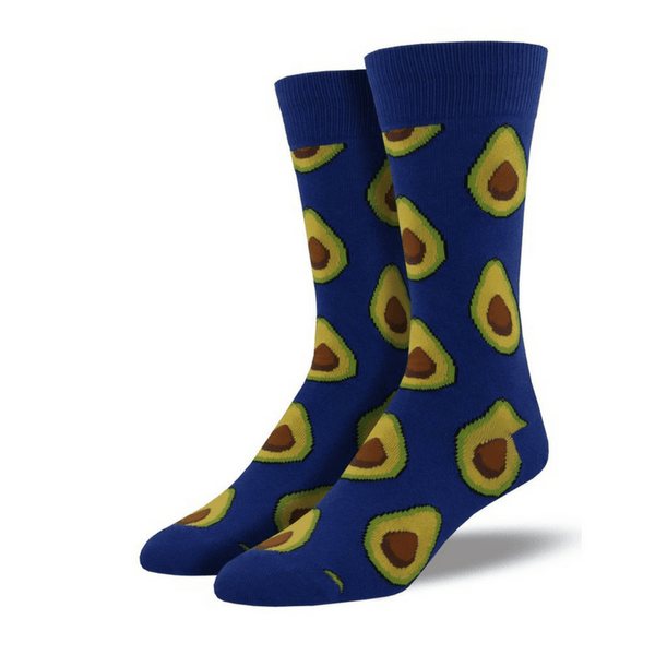 Socksmith | Socksmith Mens Blue Avocado Socks | Shut the Front Door