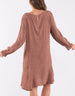Elm Knitwear | Jemma Spot Dress BROWN | Shut the Front Door
