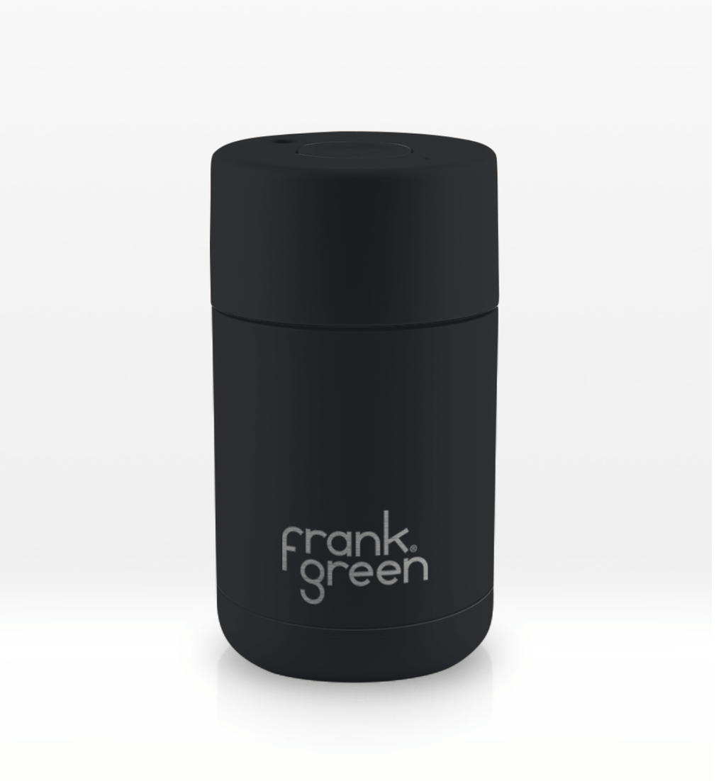 Frank Green | Stainless Steel Smart Cup 10oz Black | Shut the Front Door