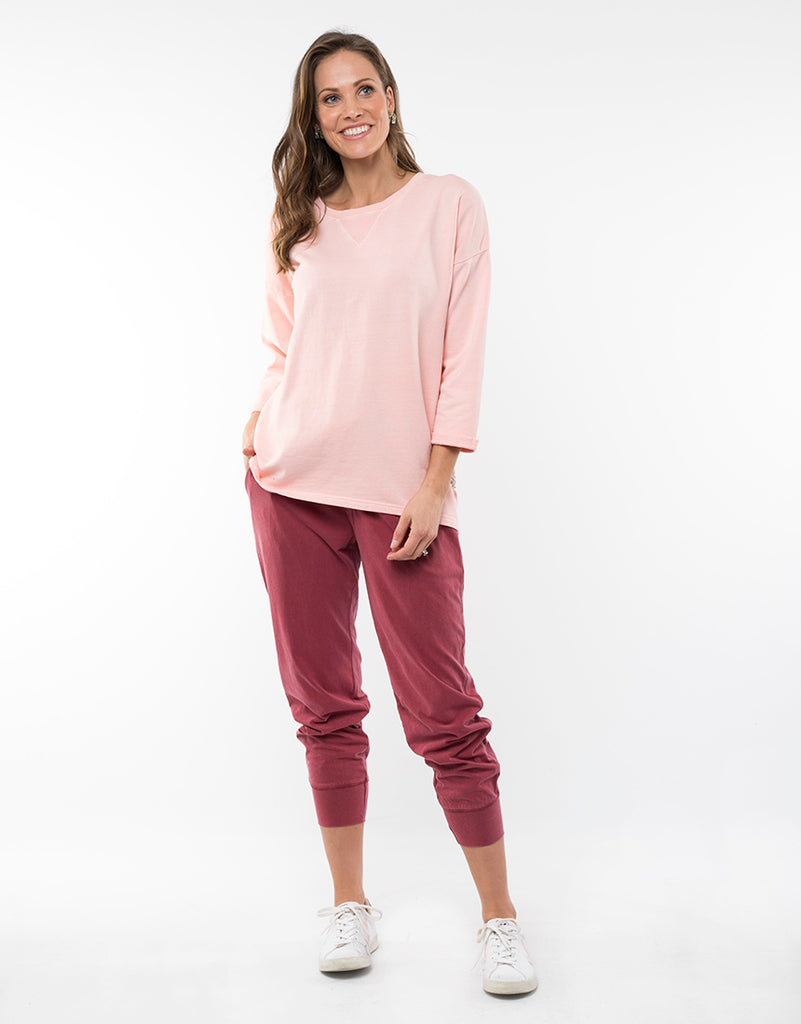Elm Knitwear | Alice Crew - Pink | Shut the Front Door