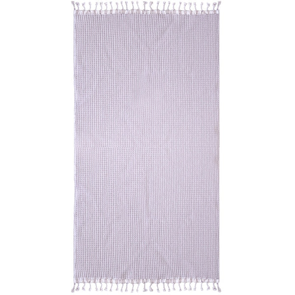 Bambury | Waffle Towel - Lilac | Shut the Front Door