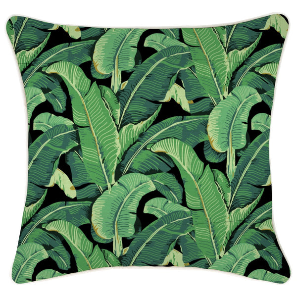 Escape to Paradise | Banana Leaf Outdoor Cushion - 45cm x 45cm | Shut the Front Door