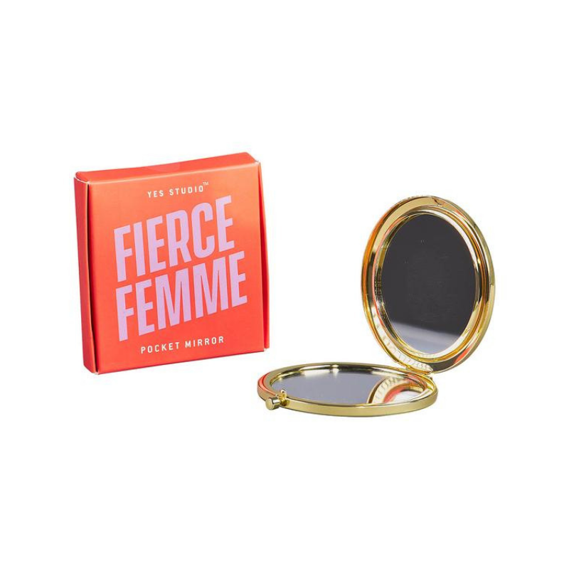 Yes Studio | Compact Mirror - Fierce Femme | Shut the Front Door