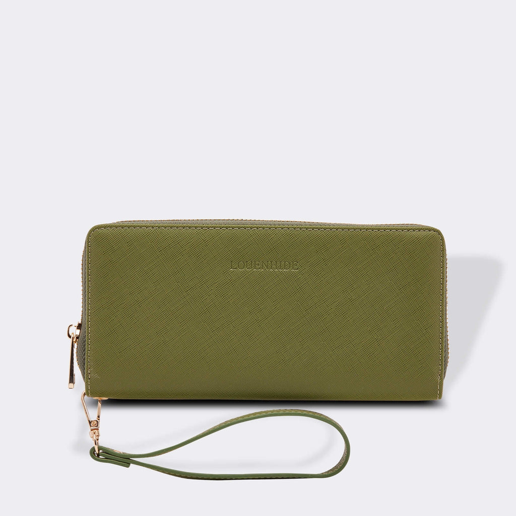 Louenhide | Jessica Hatch Wallet Military Green | Shut the Front Door