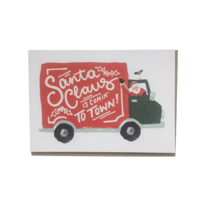 Designworks | Christmas Card - Nicolas | Shut the Front Door