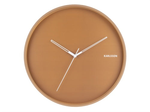 Karlsson | Hue Wall Clock - Caramel | Shut the Front Door